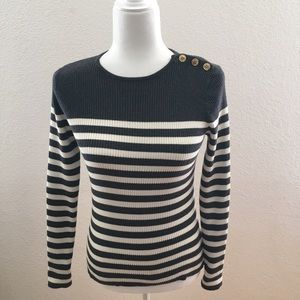 Lauren Ralph Lauren Knit Stripped Sweater